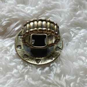 Jewelry - Fantastic Western Medallion Chunky Cocktail Ring